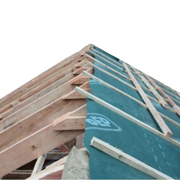 Євробар'єр ™ F150 – дренажна підпокрівельна мембрана для скатних дахів з фальцевим покриттям