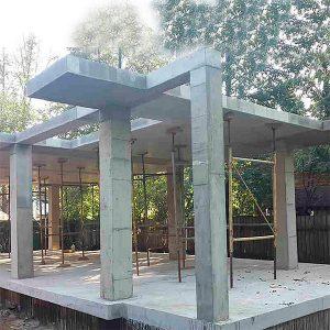Будівництво монолітних колон перетином 250х250 мм