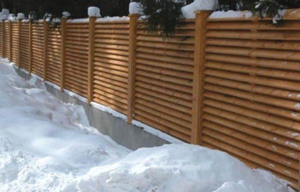 "Дерев'яний паркан ""Жалюзі-0"" 1.7х2.0"