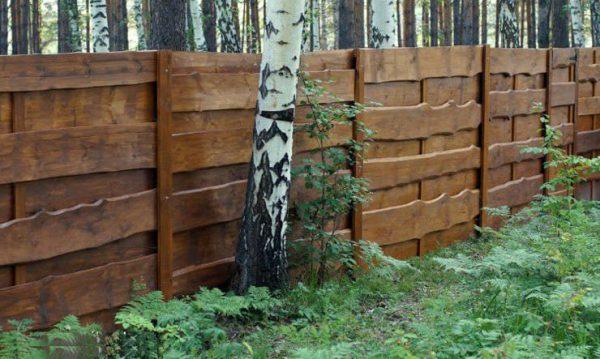"Дерев'яний паркан ""Щит-2"" 2.0х2.0"