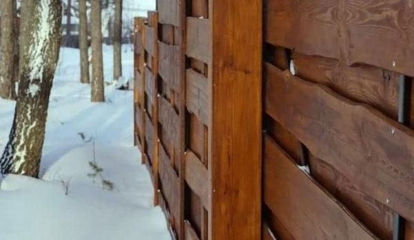 "Дерев'яний паркан ""Щит-2"" – 1.7х2.0"