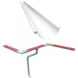 Ринва (жолоб) Ruukki 4м (система 125/90)