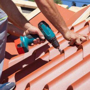 Монтаж металочерепиці – Проста покрівля (метал і планки)