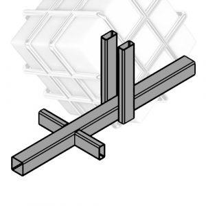Основа на бетон для мобільної огорожі