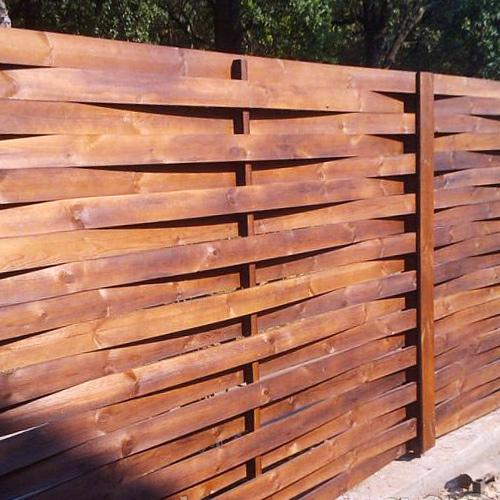 """Дерев'яний паркан """"Плетінка-2"""" 2.0х2.0"""