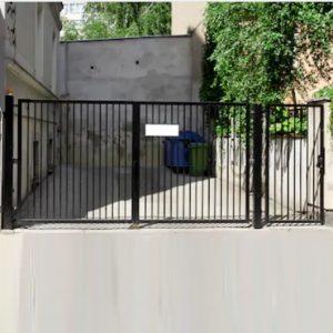 Ворота двостулкові ДЕКО 1500х5000 мм, модель В (03 серія)
