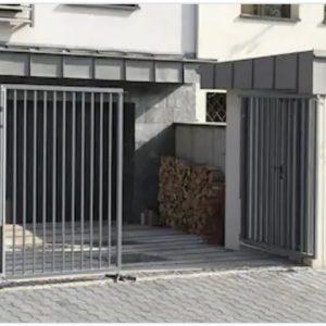Ворота двостулкові ДЕКО 1500х6000 мм, модель В (03 серія)