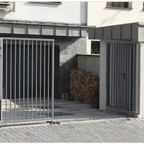 Розпашні ворота ДЕКО 2000х3000 мм, модель В (11 серія)