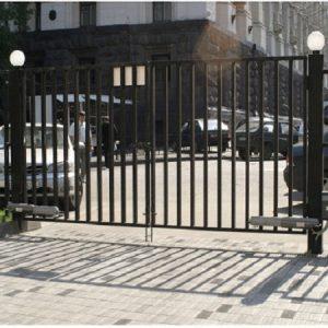 Ворота двостулкові ДЕКО 2000х6000 мм, модель В (03 серія)