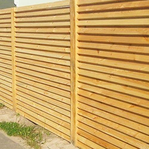 "Дерев'яний паркан ""Жалюзі-1"" 2.0х2.0"