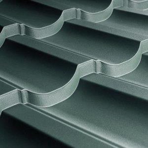 Металочерепиця Модерн 25 1195/1145 мм, (TATA Steel – Турція), вміст цинку Z-100), 0.45 мм, pol