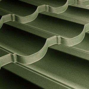 Металочерепиця Модерн 35 1195/1145 мм, (TATA Steel – Турція), вміст цинку Z-100), 0.45 мм, pol