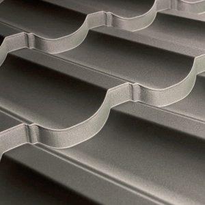 Металочерепиця Модерн 35 1195/1145 мм, (TATA Steel – Турція), вміст цинку Z-100), 0.45 мм, matt